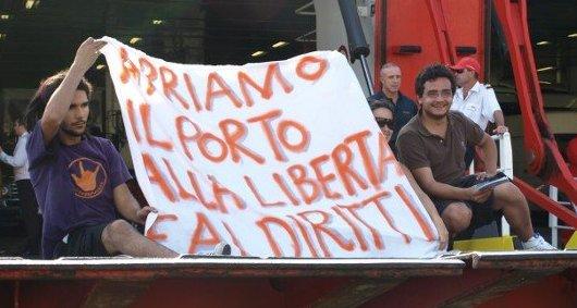 Davide Graziosi del Sisma - ancona 9-7-09 una giornata senza frontiere.
